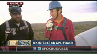 Texas now the capital of wind power?