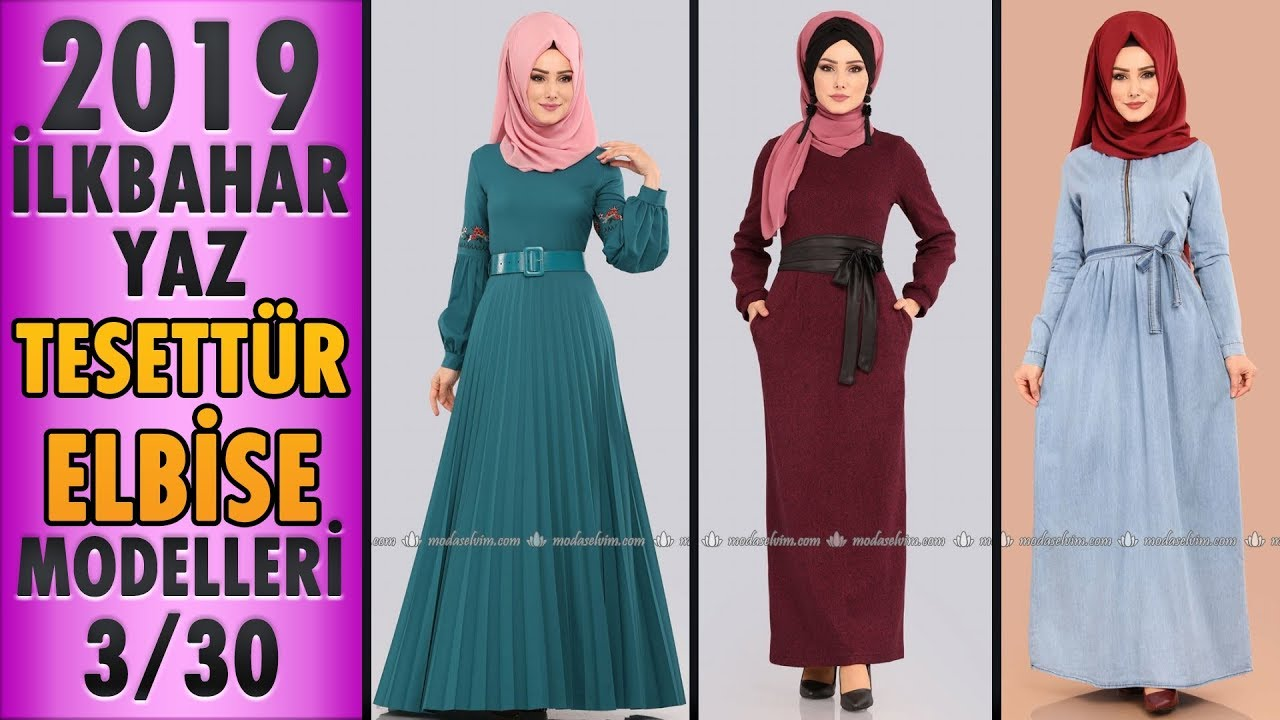 eccb3c84319dc #Modaselvim İlkbahar Yaz Tesettür Elbise Modelleri 2019 - 3/30 | #Hijab # Dress | #tesettür #elbise - modanzi tesettür - thtip.com