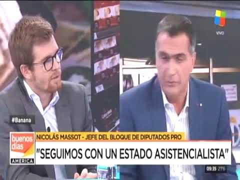 ¿Estamos al aire?, momento incómodo para el diputado del PRO Nicolás Massot
