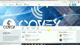 COVEX ICO Review  channel cryptocurrency exchange bitcoin news airdrops token
