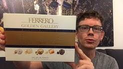 Ferrero Golden Gallery Pralinen Mischung aus dem Flughafen Duty Free im Test
