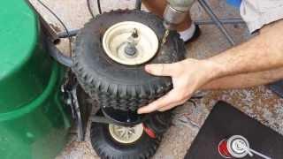 how to foam fill tire, run flats