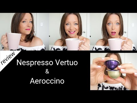 My favorite way to make coffee | Nespresso Vertuo & Aeroccino Machines | Review