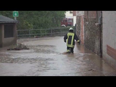 Millionenschäden: Schwere Unwetter und Überschwemmungen in Süddeutschland