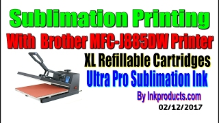 Sublimation Printing With Brother Printers  -  inkproducts com