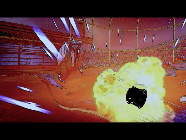 Demo Goal At The Buzzer - Rocket League #Shorts