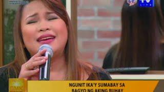 """Leah Patricio Sings Christian Malinas' """"kung Pag-ibig Mo'y Ulan"""" On Gmk"""