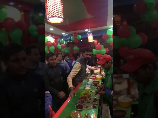 Mast Banarasi Paan celebrating Opening a new outlet.