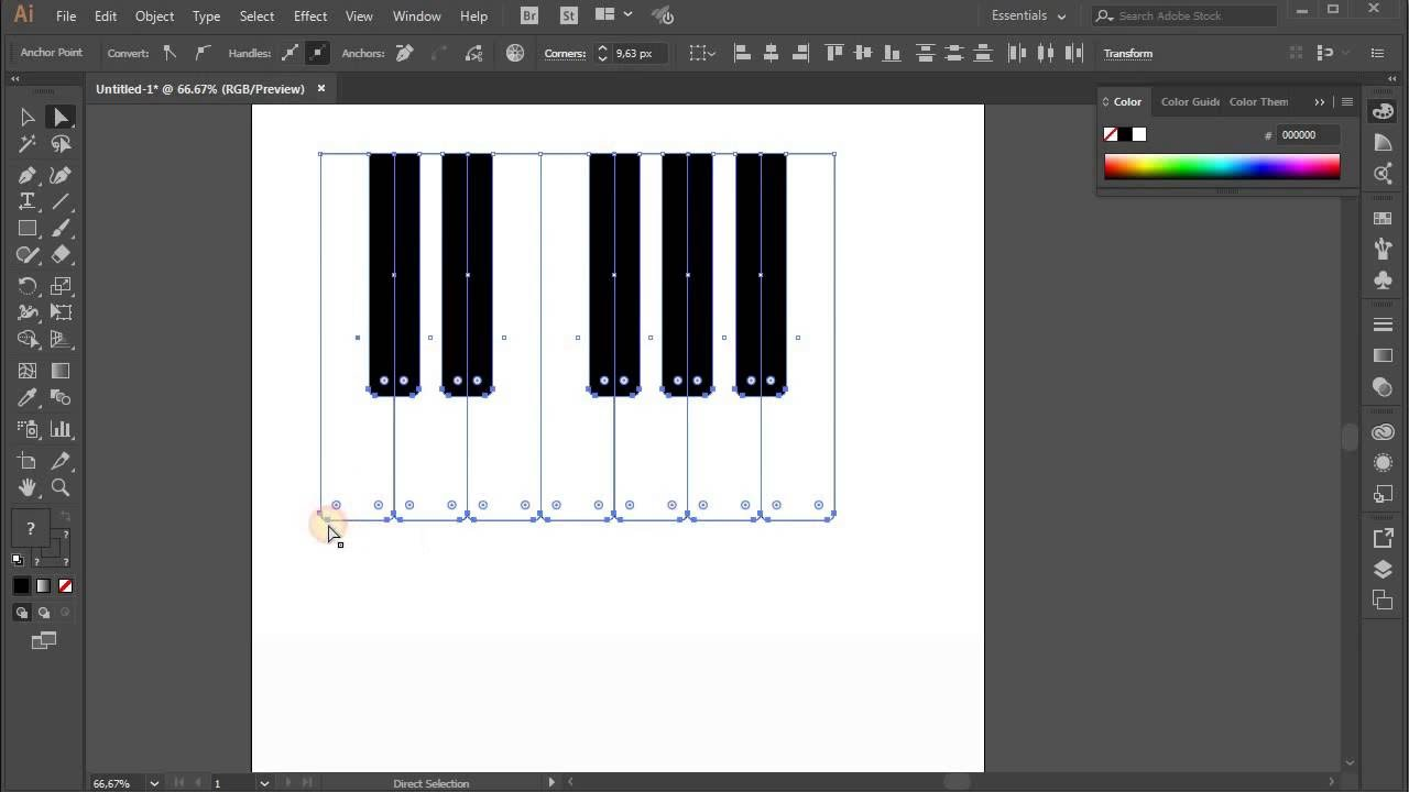 Piano keyboard tutorial adobe illustrator cc for beginners youtube piano keyboard tutorial adobe illustrator cc for beginners biocorpaavc Choice Image