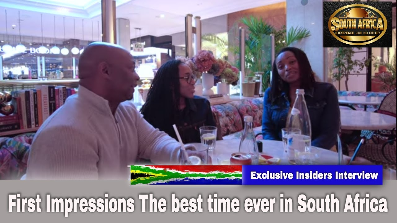 South Africa | First Impressions: South Africa Yaya Morgan final interview