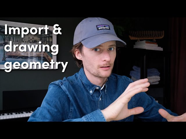 Importing & drawing geometry