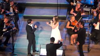Mario Frangoulis with George Perris & Hayley Westenra-All alone am I