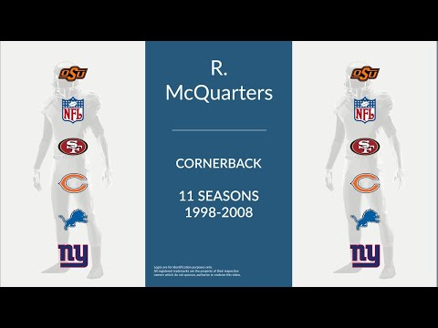 R. W. McQuarters: Football Cornerback