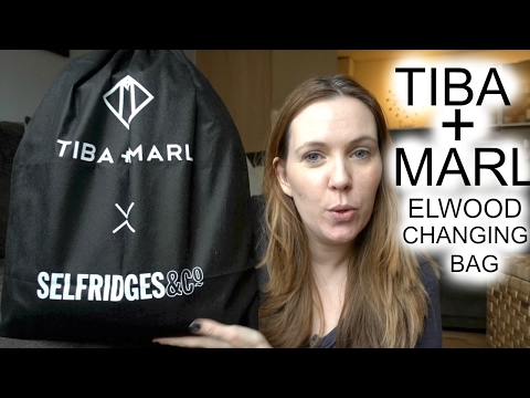 TIBA AND MARL ELWOOD BACKPACK CHANGING BAG REVIEW #72