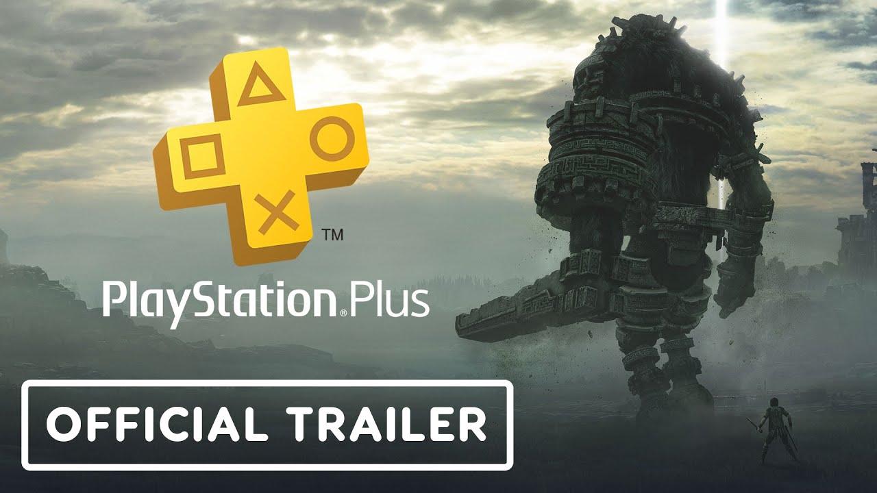 Shadow of the Colossus & Sonic Forces - Tráiler oficial de juegos gratuitos de PS Plus + vídeo