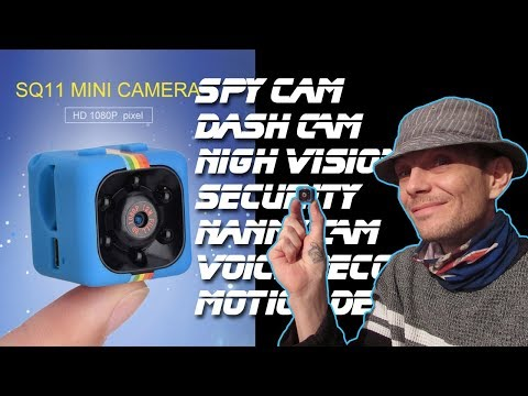 SQ11 Camera instructions and Basic review - The worlds best value Camera?