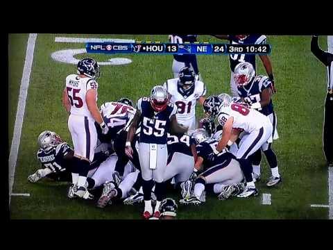 Brandon Spikes Pop n Lock Patriots Texans