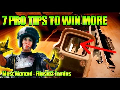 Learn from the pros: 8 Tips from Most Wanted-Flipsid3 on Club House & Skyscraper | Rainbow Six Siege