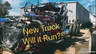 Rebuilding a Wrecked 2018 Peterbilt 367 - Intro