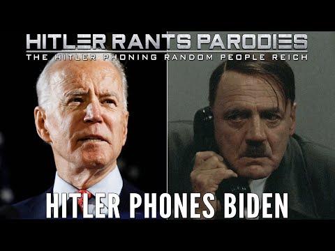Hitler phones Biden
