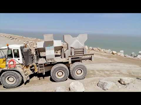 Calais Port 2015 : la fabrication des XBlocs