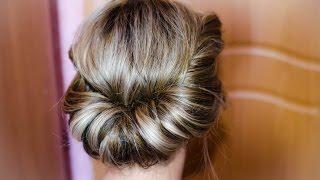 ГРЕЧЕСКАЯ ПРИЧЕСКА ЗА ТРИ МИНУТЫ- Greek hairstyle look tutorial(Ссылка на мою партнерку: http://www.air.io/?page_id=1432&aff=2266 ПРИЧЕСКА ИЗ ВАЛИКА НА ДЛИННЫЕ ВОЛОСЫ ..., 2014-09-05T11:20:56.000Z)