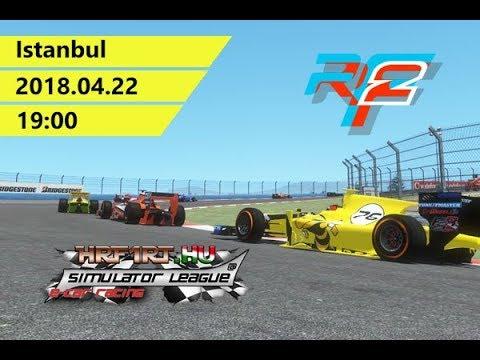 rFactor: HRF1RT - Formula AMA - Istanbul - Race Onboard