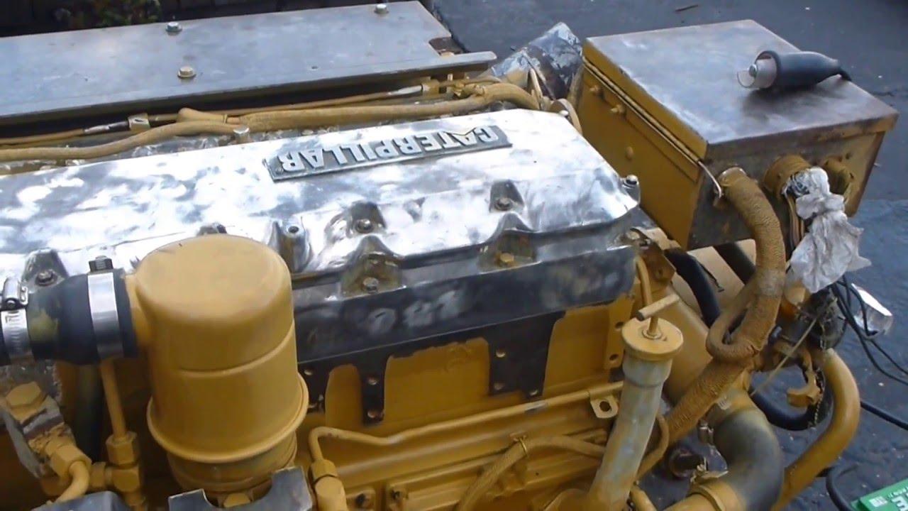 Diesel Space Heater >> Cat 3126B 420HP - YouTube