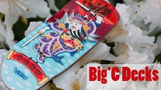 Big'C Fingerboard Decks - Chinese Door God Graphic Deck - Product Blog thumbnail