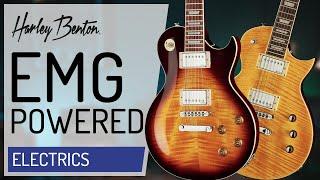 Harley Benton - SC-550 Plus & SC-Custom Plus EMG -