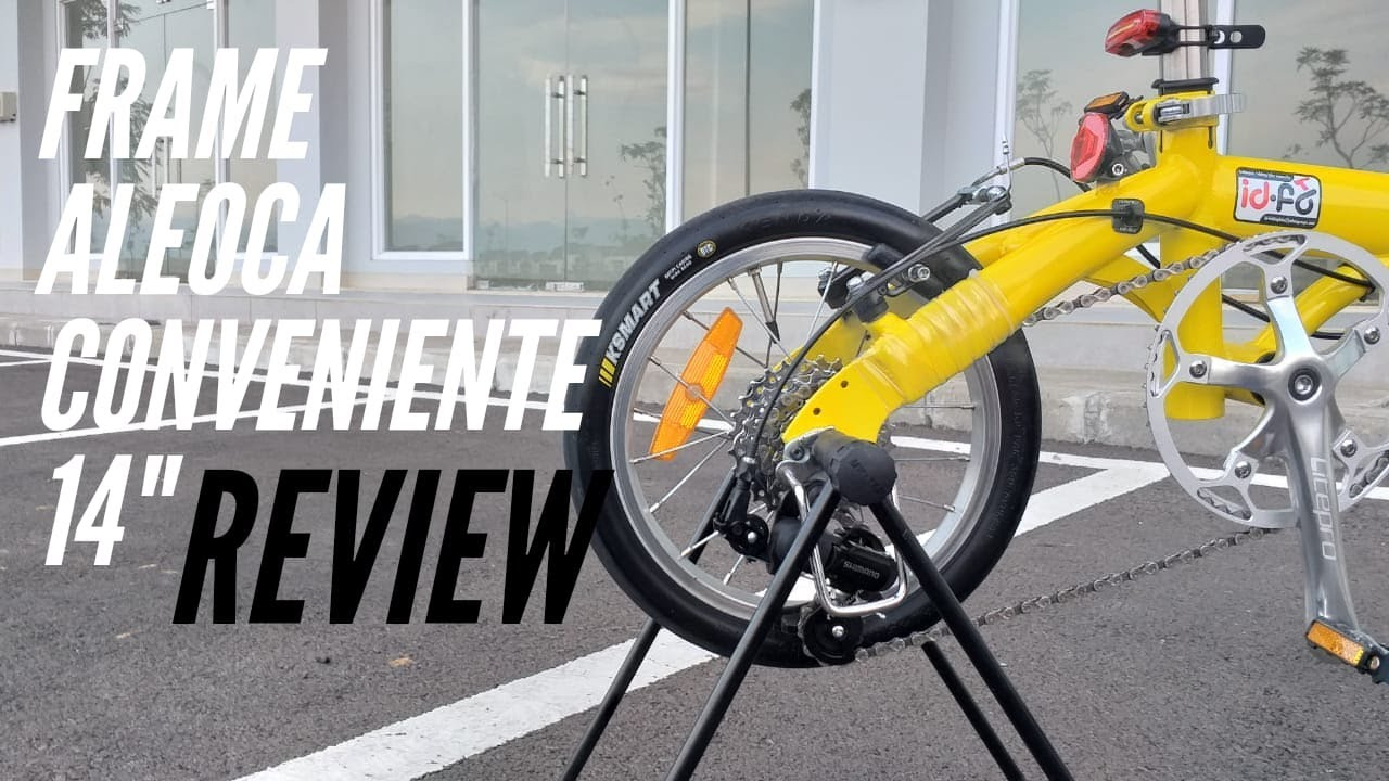 Review Sepeda Lipat Aleoca Conveniente 14 Make Over Aleoca Conveniente 14 Youtube