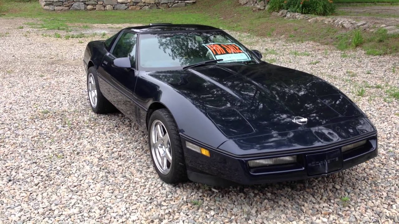1988 Chevrolet Corvette C4 82 000 Miles For sale SOLD