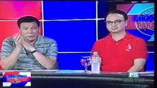 Senator Alan Peter Cayetano in Duterte