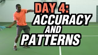 5 Days To A Killer Tennis Forehand - Day 4: Accuracy and Patterns