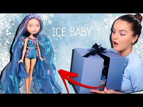 ООАК-сюрприз! Обзор и распаковка Ice Baby, дочь Снежной Королевы