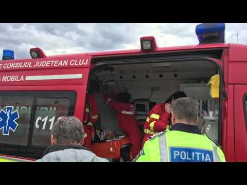 Accident Parcare Polus Mall Cluj Napoca