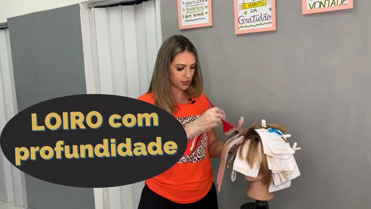 Correção de TOM em cabelos LOIROS - Live com Luana Marques