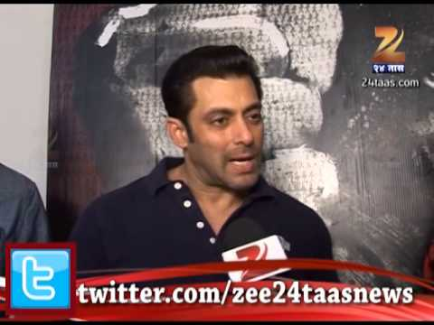 Mumbai : Salman Khan Talks In Marathi