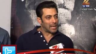 Mumbai : Salman Khan Talks In Marathi