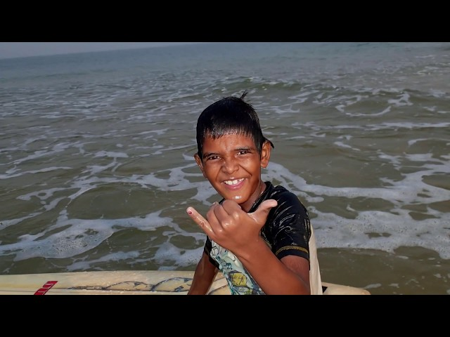 The Kid Who Dreamed to Surf - Anil, Mantra Surf Club