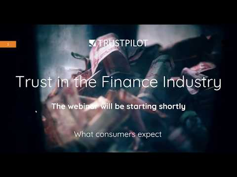Trust in the Finance Industry: What Consumers Expect - Webinar