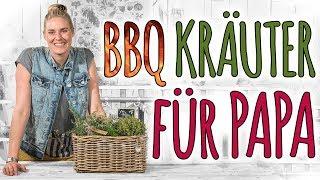 BBQ KRÄUTER FÜR PAPA - EIN EINFACHES VATERTAGSGESCHENK - DIY