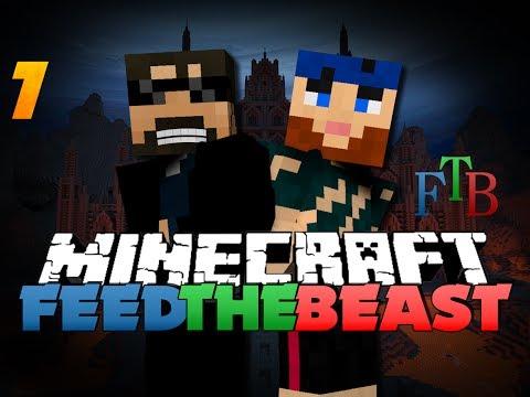 Minecraft Modded Survival - FTB 7 - COBBLESTONE EVERYWHERE