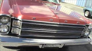 1966 Ford Galaxie 500 LTD Four Door Hardtop Red LakelandLinder111315