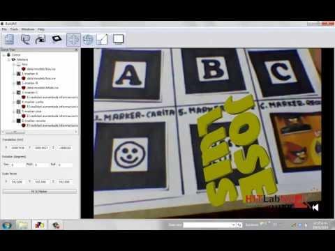 Construcción de marcadores para realidad aumentada-Artoolkit y BuildAr