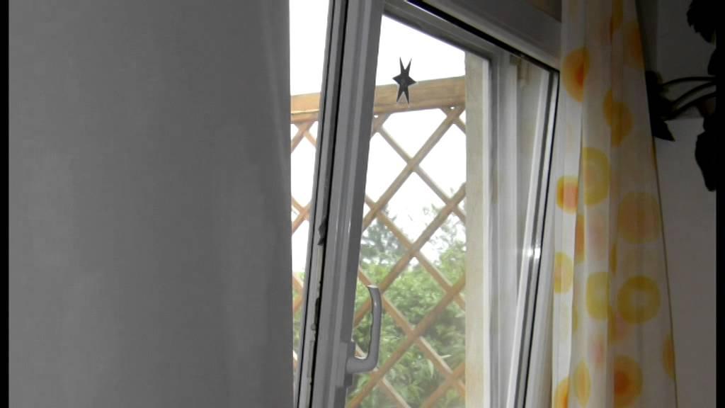 Detail předsazeného okna