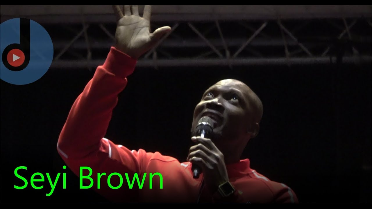 Download Seyi Brown Comedy Performance 2017 :  ilaff with Mc Abbey, London