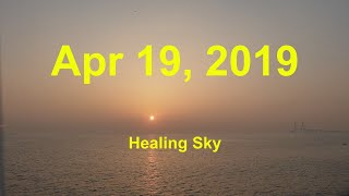 Healing Sunset Beautiful Nature Sky Travel Quotes ASMR 힐링 노을 자연 하늘 여행 명언 South Korea-Apr 19,2019