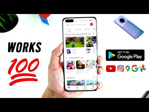 ALL HUAWEI DEVICES! - NEW FEBRUARY 2021 Method - Install Google Play Store - It Works!💯