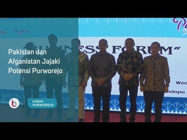 Pakistan dan Afganistan Jajaki Potensi Purworejo